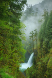 Metlako Falls and Mist Photographic Print by Vincent James