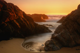 Late Light Sonoma Seascape Fotografisk trykk av Vincent James