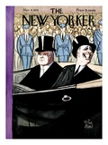 The New Yorker Cover - March 4, 1933 Premium Giclee Print by Peter Arno