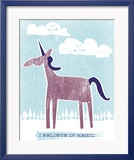 Licorne Affiches par Hero Design 