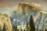 Cloud Wisps at Half Dome, Yosemite Photographic Print by Vincent James