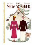 The New Yorker Cover - June 24, 1933 Premium Giclee Print by Rea Irvin