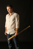 Chase Utley No. 26 - Second Baseman for the Philadelphia Phillies Photo