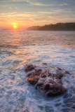 Misty Sunrise at Mokolea Photographic Print by Vincent James