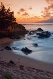 Sunset at Kapalua, Maui Reproduction photographique par Vincent James