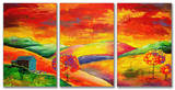 Day Dreamer Triptych Art Wood Sign