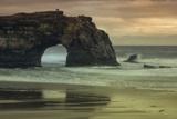 Scene at Natural Bridges, Santa Cruz Fotografisk trykk av Vincent James