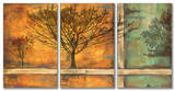 Deep Roots Triptych Art Wood Sign