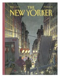 The New Yorker Cover - March 8, 1993 Premium Giclee Print by Roxie Munro