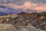 Sunset Storm at Zabriskie Point Photographic Print by Vincent James