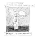 What's next for Ed? - New Yorker Cartoon Premium Giclee Print by Roz Chast