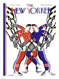 The New Yorker Cover - March 5, 1932 Regular Giclee Print av Leo Rackow