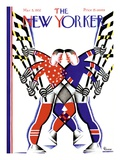 The New Yorker Cover - March 5, 1932 Giclée-Druck von Leo Rackow