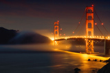 Bridge and Fog, San Francisco Photographic Print by Vincent James