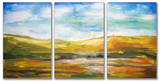 Painted Horizons Triptych Art Wood Sign