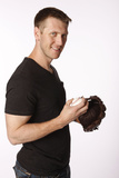 Jason Bay No. 12 - Left Fielder for the New York Mets Print