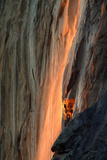 Firefall Detail, Yosemite Photographic Print by Vincent James