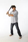 Ian Kinsler No. 5 - Second Baseman for the Texas Rangers Prints