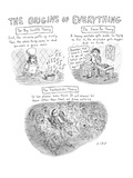 'The Origins of Everything' - New Yorker Cartoon Premium Giclee Print by Roz Chast