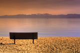 South Tahoe Lakeside Morning Photographic Print by Vincent James