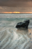 Sunset Rock Seascape Photographic Print by Vincent James