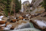 Quick Stop at Vernal Falls Photographic Print by Vincent James