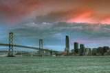 Late Afternoon Storm Color at San Francisco Photographic Print by Vincent James