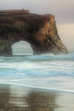 Natural Bridge Portrait, Santa Cruz Photographic Print by Vincent James