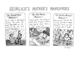 HEIMLICH'S MOTHER'S MANEUVERS - New Yorker Cartoon Premium Giclee Print by Roz Chast