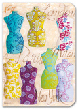 Fashion Dresses Fabric Journal Journal