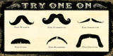 Mustachios Prints by Cory Steffen