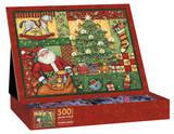 Patchwork Christmas 500 Piece Jigsaw Puzzle Jigsaw Puzzle