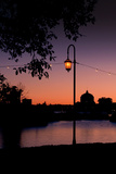 Sunset Walk at Lake Merritt Photographic Print by Vincent James