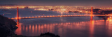 San Francisco Cityscape from the Marin Headlands Fotografie-Druck von Vincent James