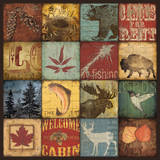 Lodge 16 Patch Prints by Stephanie Marrott