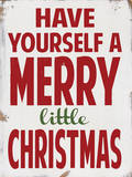 Merry Little Christmas Poster