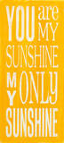You are my Sunshine Poster von Holly Stadler