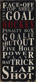Hockey Face-Off Kunstdrucke