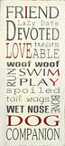 I Love My Dog Poster by Holly Stadler