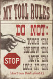 My Tool Rules Print by Jo Moulton