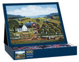 Apple Picking 500 Piece Jigsaw Puzzle Jigsaw Puzzle