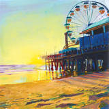 California Dreaming II Art by Mercedes Marin