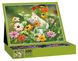 Please Don't Eat The Zinnias 500 Piece Jigsaw Puzzle Jigsaw Puzzle