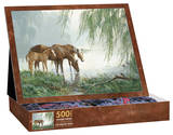 The Willow Pond 500 Piece Jigsaw Puzzle Jigsaw Puzzle