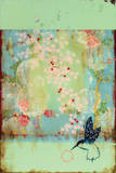 Cherry Blossoms Poster van Kathe Fraga