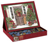 Holiday Door 500 Piece Jigsaw Puzzle Jigsaw Puzzle