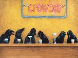 Crow Bar Kunstdruck von Will Bullas