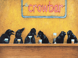 Crow Bar Poster by Will Bullas