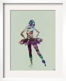 Ballerina Watercolor 高画質プリント : NaxArt(ナックスアート)