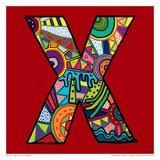 Letter X Prints by Emi Takahashi